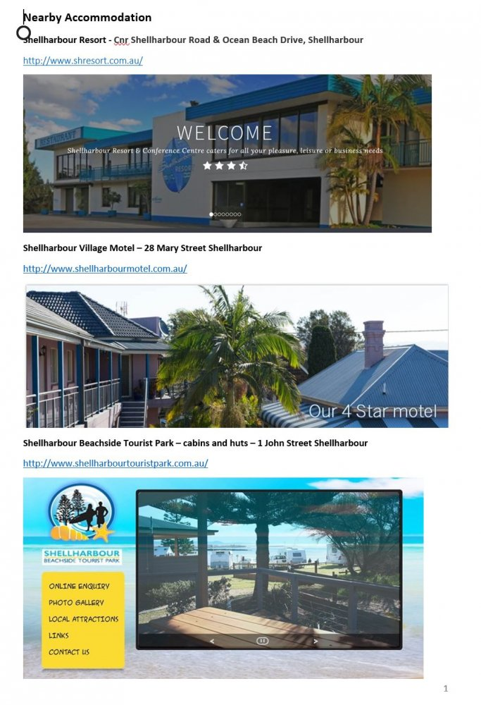 Shellharbour Information Page 1.JPG